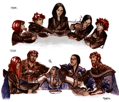 Family Breakfast by Phobs