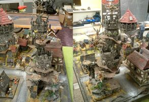 Mordheim Gaming Table's Magical Tower by TheBl4ckCat