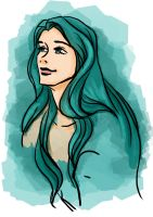 The turquoise fairy by Tella-in-SA