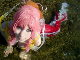 [Mermaid Cosplay] Shirahoshi - ONE PIECE COS by K-I-M-I