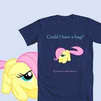 T-Shirt Submission - Could I Have a Hug by Zapapplejam