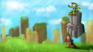 How do I draw - PewDiePie and Cryaotic by ScribbleNetty