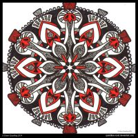 Charming Chant Mandala III by Quaddles-Roost