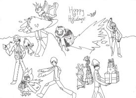 Happy Holidays! - 2013 by Winged-Wasabi