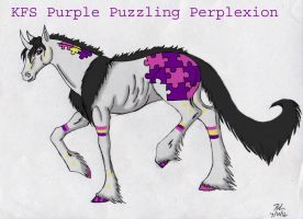 Purple Puzzling Perplexion ref by rempage