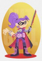Hit Girl by tyrannus