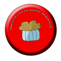 Muffin Button by MatoroIgnika