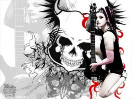 Rock Girl II by noizkrew