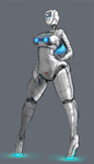 Asobi (playstation) robogirlification by cutesexyrobutts
