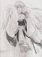 Sesshomaru by hobbit1803