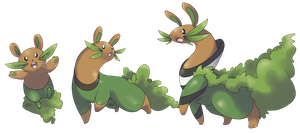 Fakemon: Rusker, Civetta, Canvetta by Kydeka