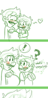 Baby kicking comic by MariobrosYaoiFan12