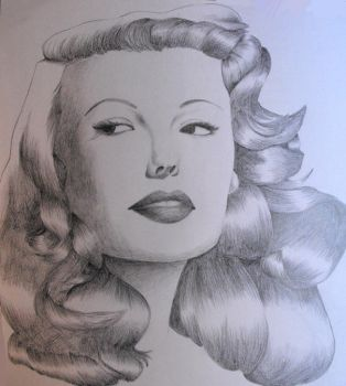 Rita Hayworth by pwns0m3ch1ck