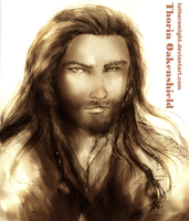 Thorin Oakenshield by LutherOMight