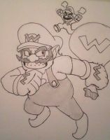 It's Wario by SuperGon-64
