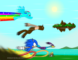 Speedster Showdown by Wikkid1