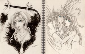 :AT: Demon and Angel by GreatUFO