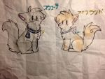 Cat!Finland and Cat!Sweden by longlivehetalia1