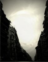 the distorted city by mihmann