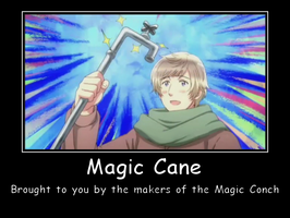 The Magic Cane by Hoozuki