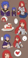 Jerza:Cake problems by Drawing-Heart