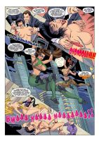 SPY BOUNCE #3 Preview Page by MTJpub