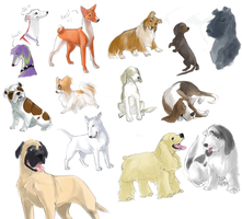 random doggies wave 2 by shelzie