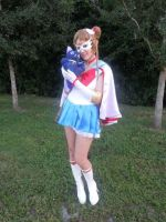 Manga Style Sailor Moon Cosplay by SailorSamara