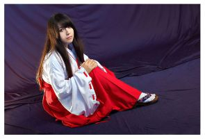 the shrine maiden kikyo by AFSEMsoul