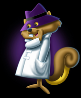 Secret Squirrel by brant5studios