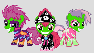 Masked Cutie Mark Crusaders by Death-Driver-5000