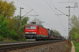 DB Trans Montana with freight near Gyor by morpheus880223