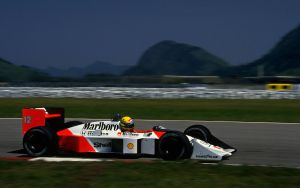 Ayrton Senna Wallpaper-1 by JohnnySlowhand