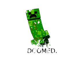 Minecraft - Doomed. by Die-Laughing