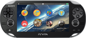 Vita UI - Screen 2 by SimonDiff