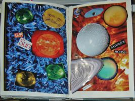 1st Altered Book 40, Favorites by angelstar22