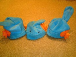 Mudkip Hats, and then some by 007meepit