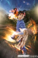Flame of Recca: Recca Seifuku by jei