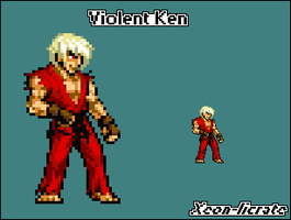 Sprite Contest1: Violent Ken by Pixelated-Dude