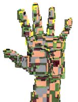 Abstract hand by GatoIshwary