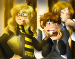 The Hufflepuff sibling by HezuNeutral