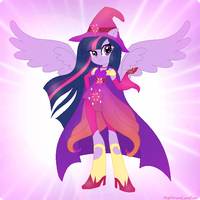 Behold, The Great and Magical Princess Twilight! by NightmareLunaFan