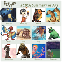 2014 in Review by Pepper-Head