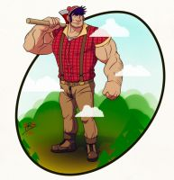 Big Paul Bunyan by leomon32