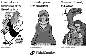 TidalComics Flyer by jeinu