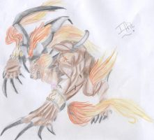 Ifrit FF X by Axelroxsox