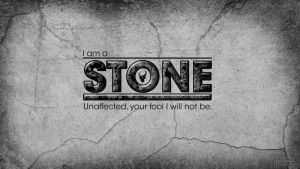 I Am A Stone by omegaarchetype