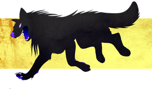 T: Young dire feral by Maulise