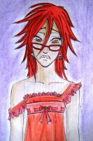 Red dress,red sadness-Grell by PlacebicYue
