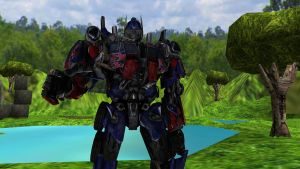 MMD OPTIMUS PRIME MODEL DOWNLOAD by tuestpwned
